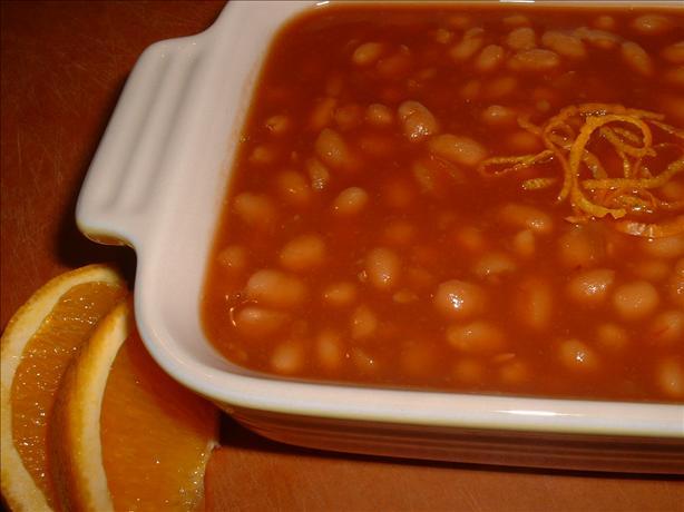 Orange Baked Beans