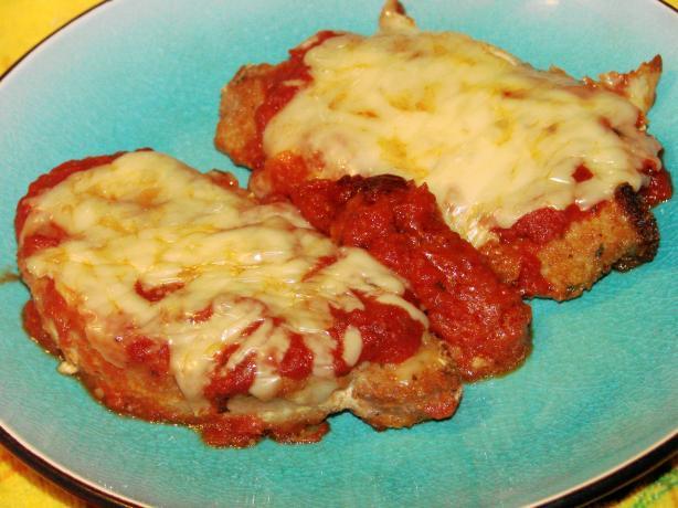 Prego Pork Chops Parmesan