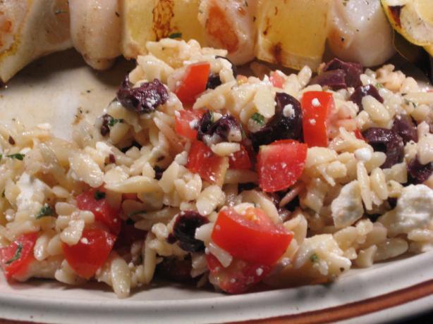 Tomato-Orzo Salad