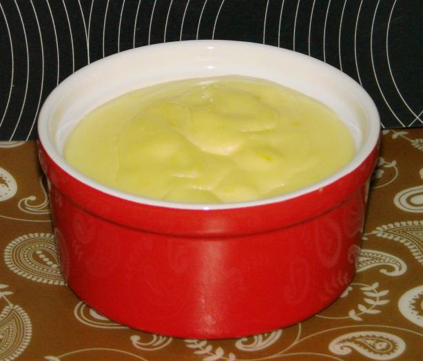 Silky Lemon Pudding