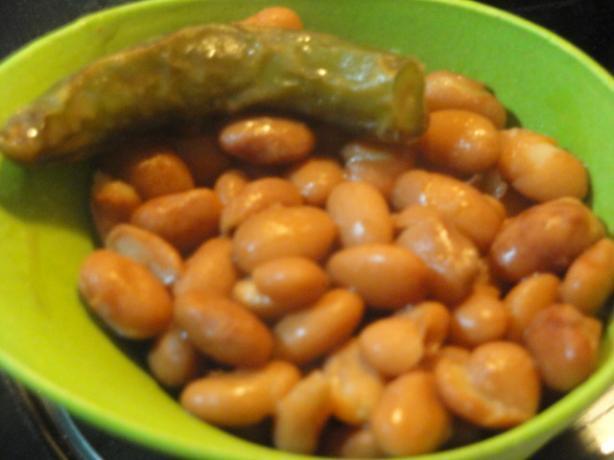 El Pollo Loco Mexican Beans
