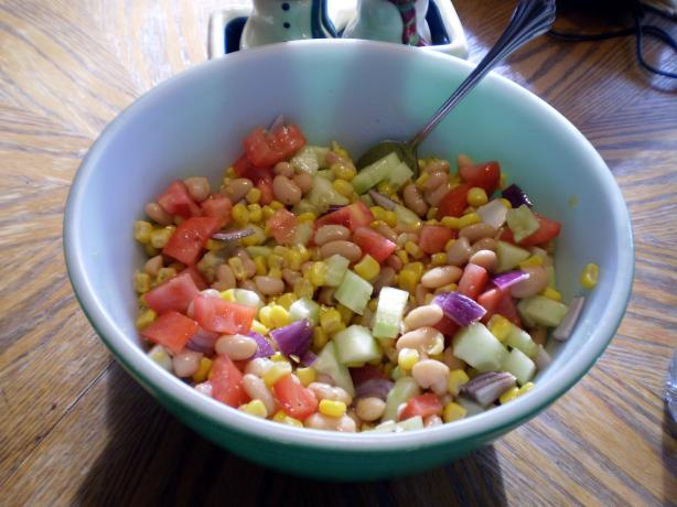 "Easy Summer ""mexican"" Butter Bean Salad"