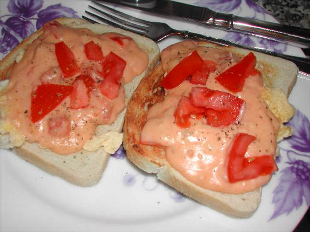 Tomato Rarebit
