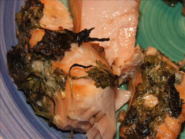 Quick-Fix Salmon With Lime & Coriander (Cilantro)