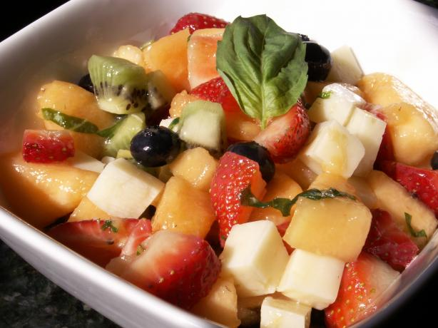 Delicious Fruit and Cheese Salad