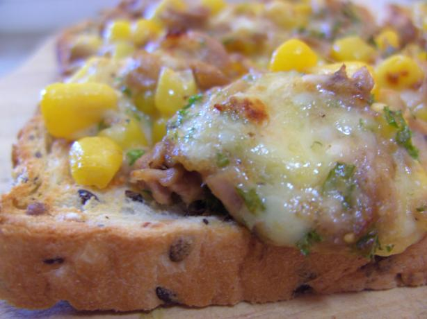 Tuna and Sweet Corn Melts