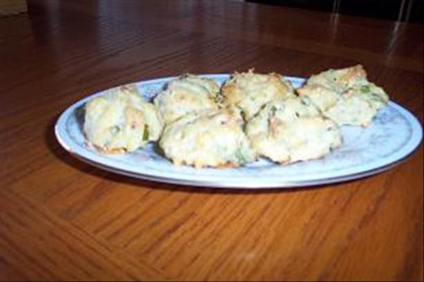 Blue Cheese Bacon Puffs
