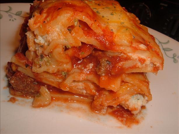 Way-easy Lasagna