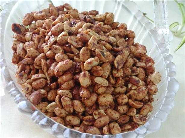 Spicy Fried Chili Peanuts