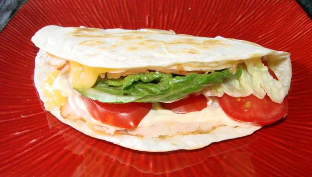 Turkey & Cheese Quesadilla