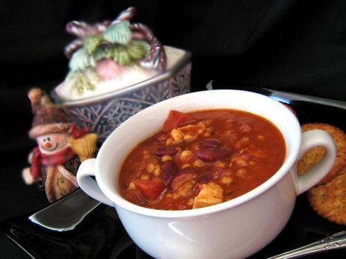 Delicious Chicken Barley Chili