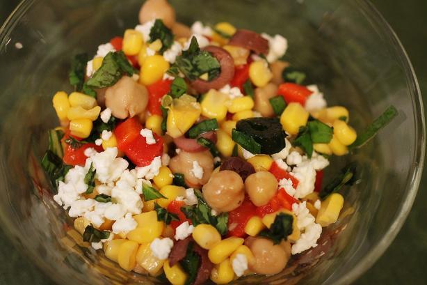 Mediterranean Corn Salad