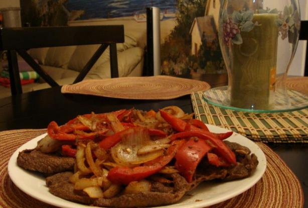 Sirloin Steak Filipino-Style (Bistek Tagalog)