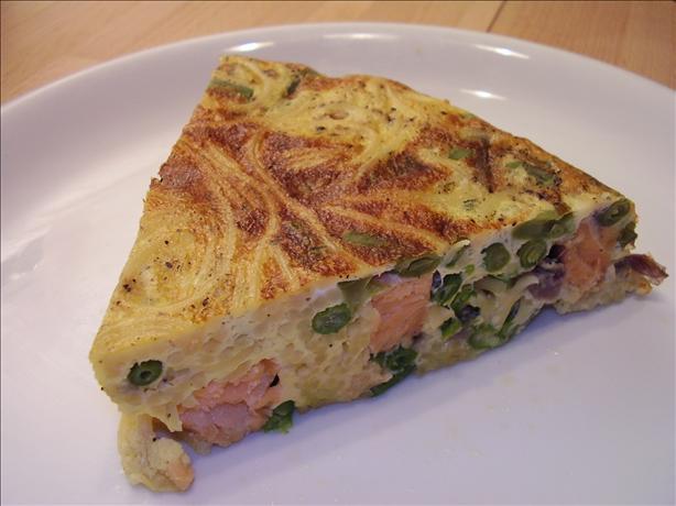 Salmon Trilogy (Part IIl): Gravad Salmon Pasta Frittata