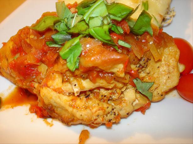 Chicken Cacciatore A'la Giada