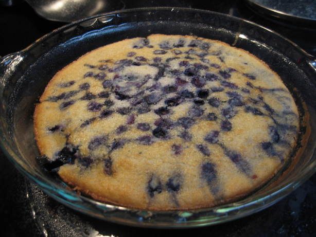 Low Fat Blueberry Cobbler