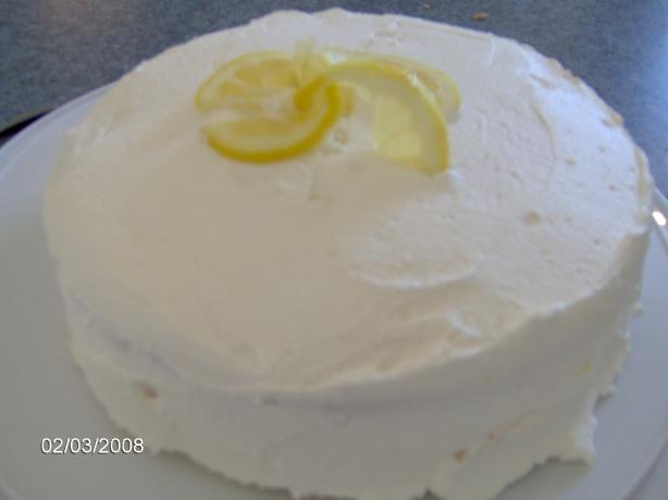 Lemon Velvet Layer Cake