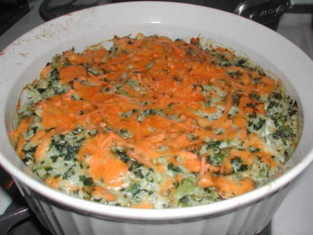 Green Rice Casserole