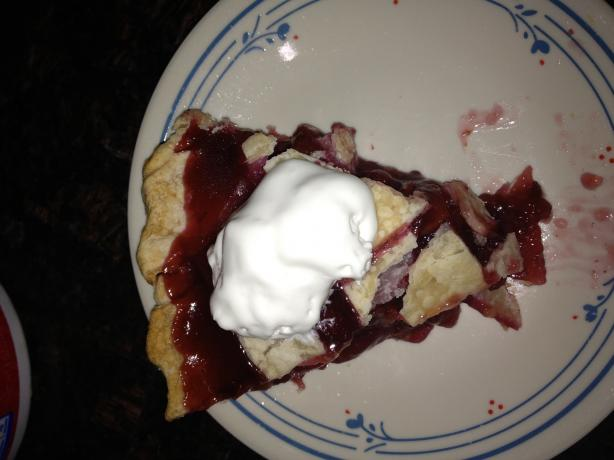 Cherry Pie With Canned Cherries