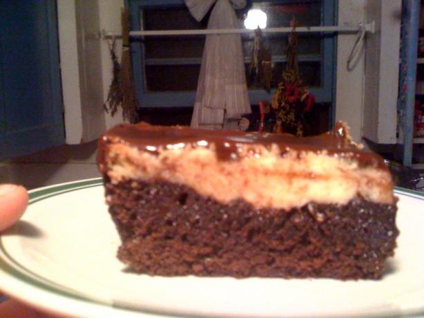 Pms Brownies Aka Cheesecake Topped Brownies