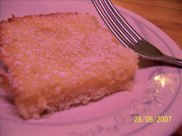 Easy Lemony Lemon Bars