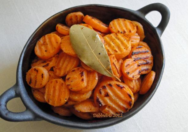 Carrots Sautéed in Bay Leaf
