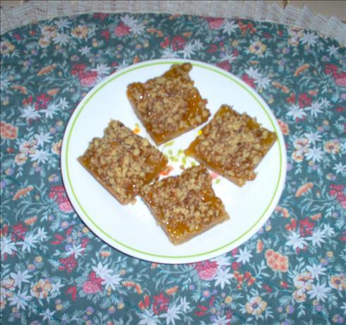 Apricot Shortbread