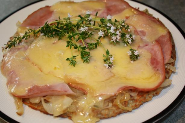 Rösti With Parma Ham and Emmenthal