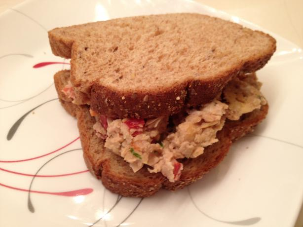 Better-Than-Tuna, Chickpea Salad