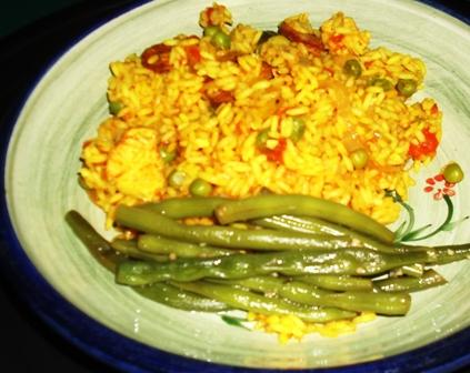 Land Lubber's Paella