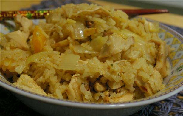 Iran Chicken Pilaf