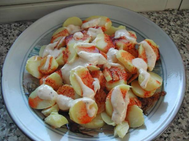 Patatas Bravas - Brave Spanish Potatoes