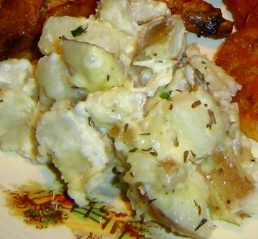 Garlic Thyme Potato Tapas