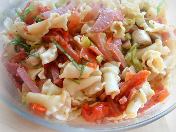 Atk's Antipasto Pasta Salad