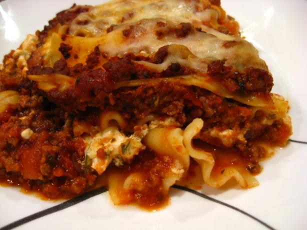 Papa D's Lasagna