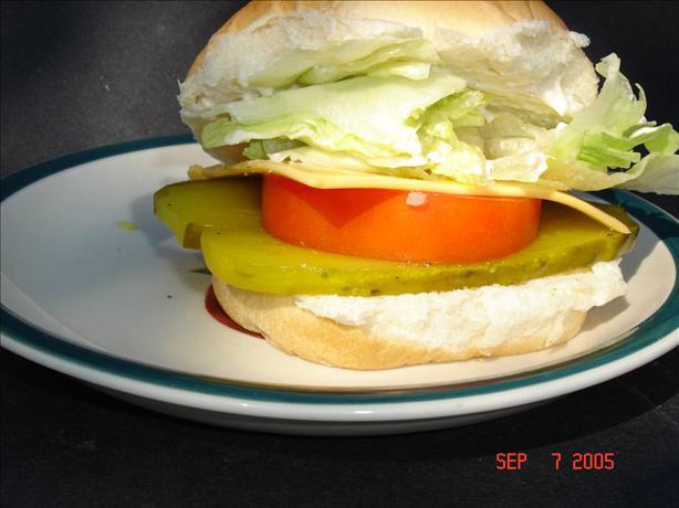 Summer Salad Sandwich