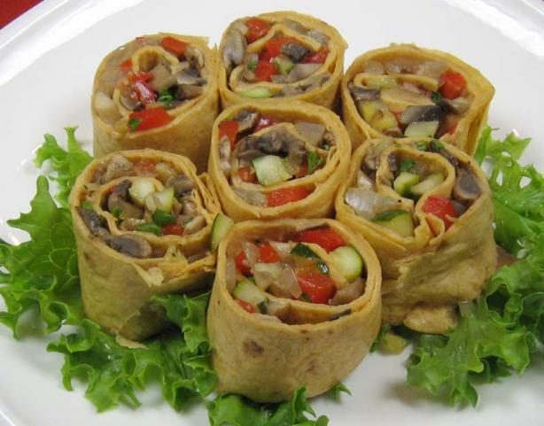 Grilled Vegetable Roll-Ups