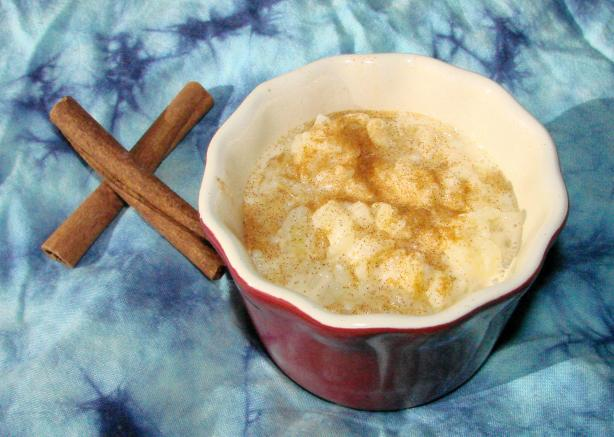 Heart Healthy Cinnamon Rice Pudding