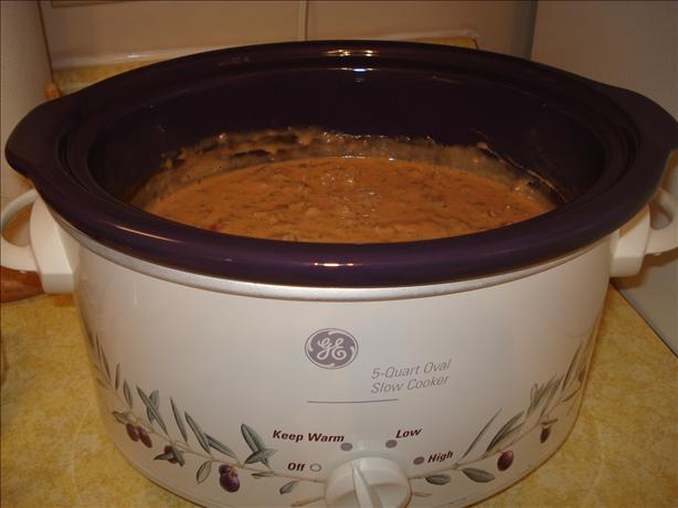 Crock Pot; Meaty Cheese Dip