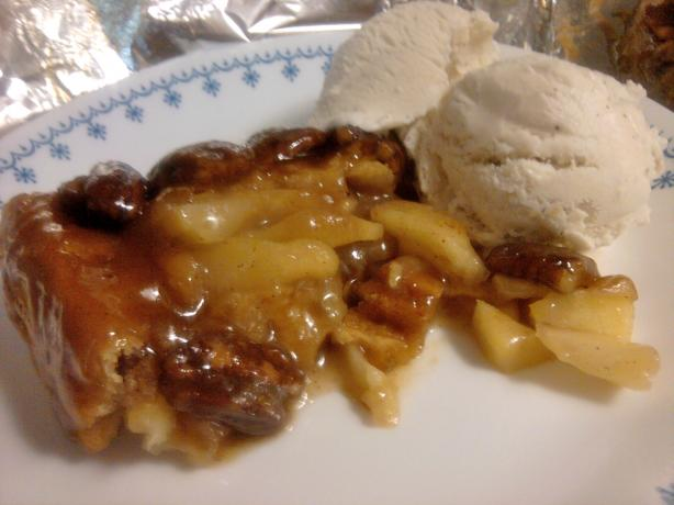 "Caramel Pecan ""make You Cry"" Apple Pie"