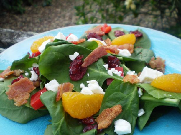 Special Occasion Spinach Salad