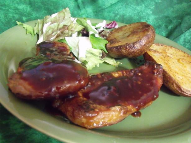 Tangy Citrus Pork Chops