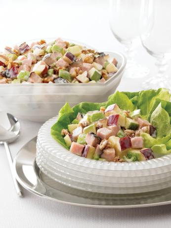Maple Honey Turkey Waldorf Salad