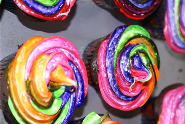 Swirled Icing for Cupcakes