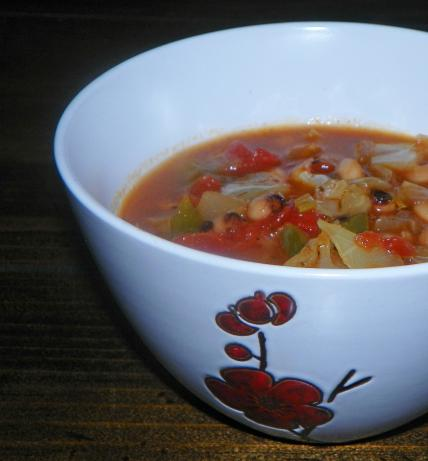 Southern Style Black-Eyed Pea Soup