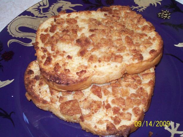 Crunchy Snickerdoodle French Toast