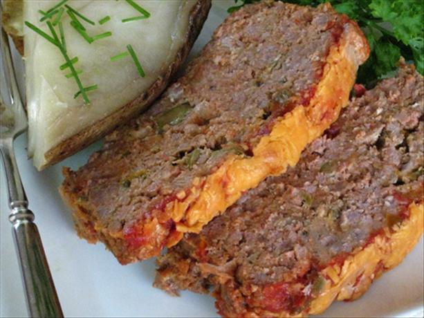 Bri's Cheddar Meatloaf