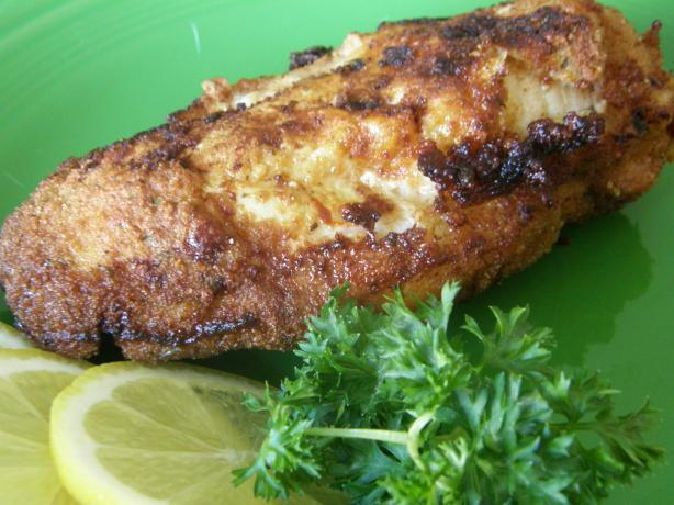 Lemon-Breaded Fried Chicken