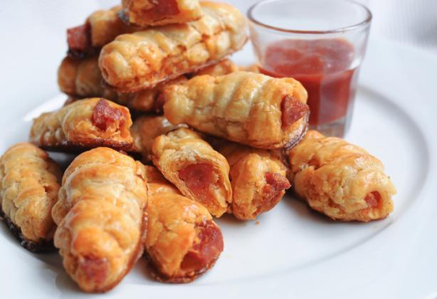 Chorizo Puff Pastry Bites