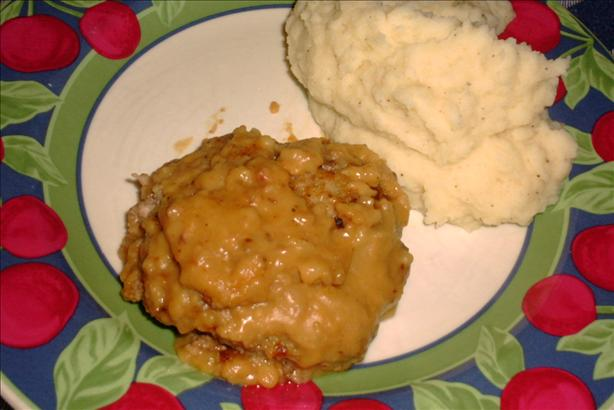 Hamburger Steak and Gravy